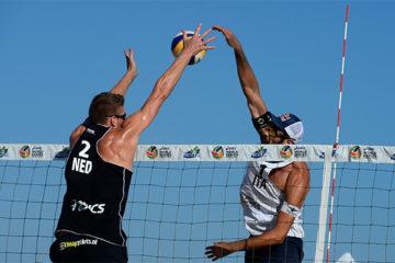 Grand Slam Long Beach: Nicolai/Lupo volano agli ottavi. Menegatti/Orsi Toth ai sedicesimi