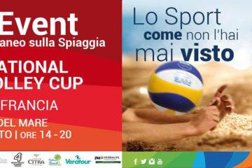 Il 14 e 15 agosto Italia e Francia in campo a Pescara per l'International beach volley cup