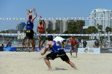Grand Slam Long Beach: Vanni/Tomatis sconfitti 2-0 da Alison/Bruno