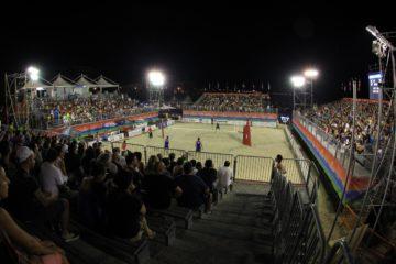 Giochi del Mare Pescara 2015: Nei quarti derby azzurro tra Giombini/Toti e Zuccarelli/Lestini. Caminati/Rossi ok
