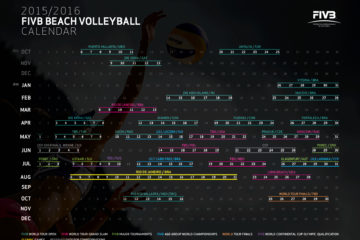 World Tour 2016, ecco la bozza del calendario FIVB