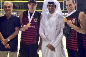 Primo successo dei gemelli Ingrosso con la maglia del Club Al Rayyan