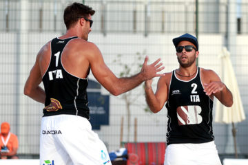 Qatar Open: I gemelli Ingrosso e Ranghieri/Carambula agli ottavi. Out Caminati/Rossi