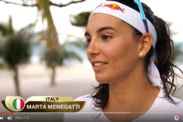 #MaceioOpen: Marta Menegatti si confessa… (English)