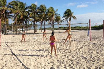 Matteo Cornali esporta il beach volley made in Italy a Miami