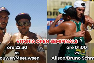 #VitoriaOpen: Il cielo è azzurro sopra Vitoria. Nicolai/Lupo e Ranghieri/Carambula in semifinale (qui diretta streaming)