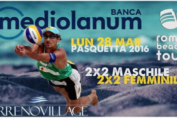 """A Pasquetta il Tirreno Village di Fregene ospita il I Trofeo """"Banca Mediolanum"""" 2×2 M&F"""