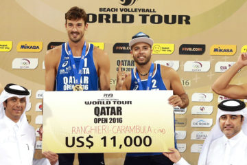 #DohaOpen si tinge d'azzurro. Oro a Ranghieri-Carambula