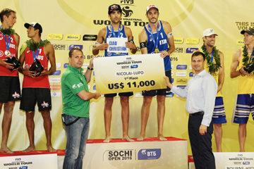 Sochi Open: Italy are the Champions! Nicolai/Lupo sul gradino più alto del podio