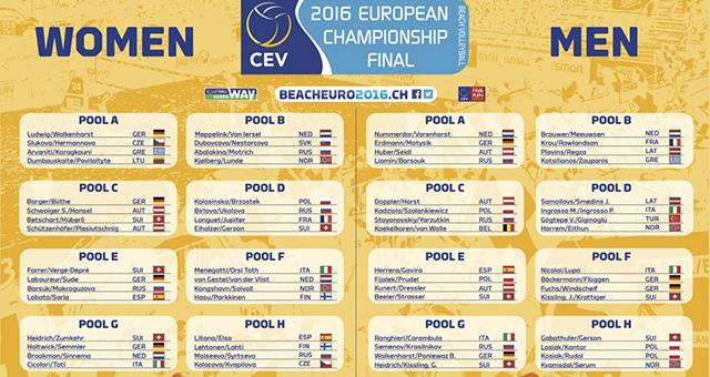 pool europei 2016 cev biel/bielle