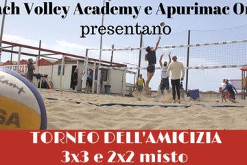 La Beach Volley Academy di Roma in campo al fianco di Apurimac Onlus per le vedove di Nyamasaria, piccola comunità africana