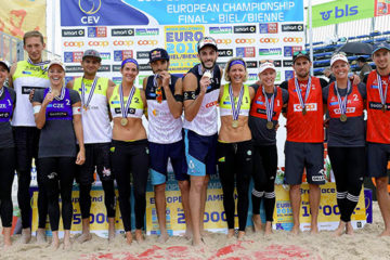 Europei 2016 Beach Volley: Estasi Italia! Paolo Nicolai e Daniele Lupo si laureano (nuovamente) Campioni d'Europa
