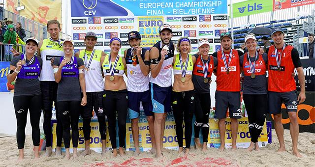 cev europei 2016 biel bienne nicolai lupo oro podio