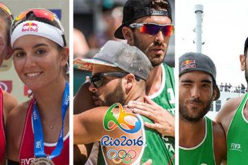 Olimpiadi Beach Volley Rio 2016: Menegatti/Orsi Toth, Ranghieri/Carambula e Nicolai/Lupo ci sono!
