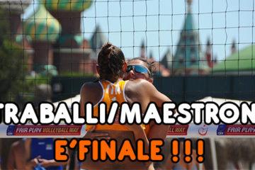 Europei U20 Antalya: Traballi/Maestroni da sogno…E' FINALE!