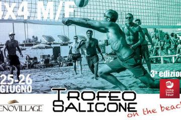 Trofeo Salicone On The Beach 2016: Il 25 e 26 giugno il 4×4 maschile e femminile al Tirreno Village di Fregene