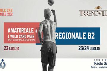 Dal 22 luglio al Tirreno Village il torneo con wild card per il Serie B2 M&F targato Roma Beach Tour
