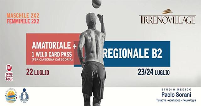 torneo serie beach 2 tirreno village fregene roma beach tour