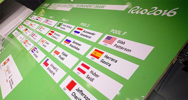 draw rio 2016