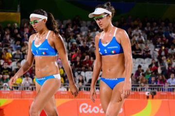 Olimpiadi Rio 2016:  Menegatti e Giombini sconfitte al debutto a Copacabana