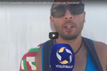 """Olimpiadi: Carambula il mago della """"Skyball"""" in lacrime prima del debutto VIDEO"""