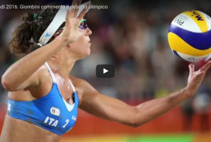 Olimpiadi Rio2016:  Audio video. Laura Giombini commenta il suo debutto a cinque cerchi