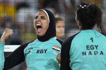Olimpiadi Rio 2016:  Menegatti e Giombini in campo alle 17 contro le egiziane Elghobashy/Nada