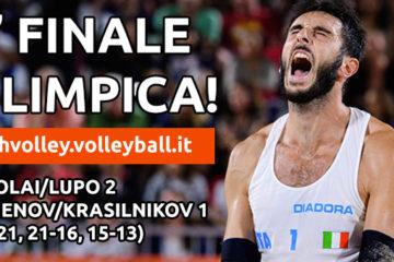 Olimpiadi Rio 2016: Nicolai/Lupo IMMENSI! È Finale olimpica contro Bruno/Alison