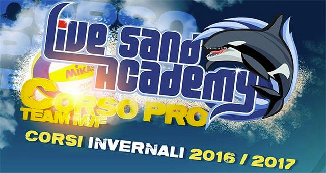 Dal 15 settembre i nuovi corsi invernali della Live Sand Academy! Prove gratuite per tutte le fasce di età e di livello