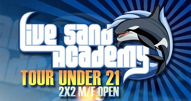 Il 22 gennaio al via il Tour Under 21 M&F Open della Live Sand Academy