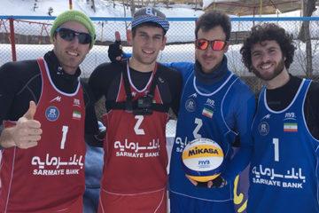 Snow Volleyball: Neve e spettacolo in Iran