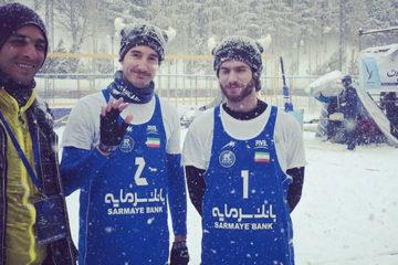Snow Volleyball Iran: Vincono i russi Bogatov/Dayanov. Il bilancio azzurro