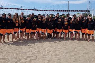 La Beach Volley Academy a Bibione con 100 istruttori