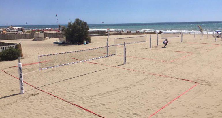 Reale Drink I : a Fiumicino il beach volley è per tutti
