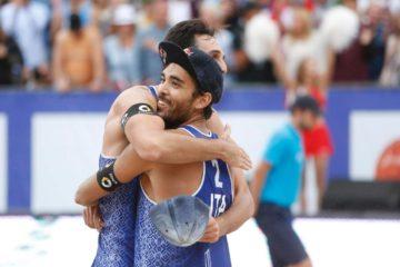 Il palmares della coppia d'oro del beach volley Nicolai/Lupo
