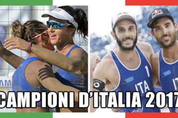 Finali Campionato Italiano 2017: Zuccarelli/Giombini e Nicolai/Lupo trionfano a Catania
