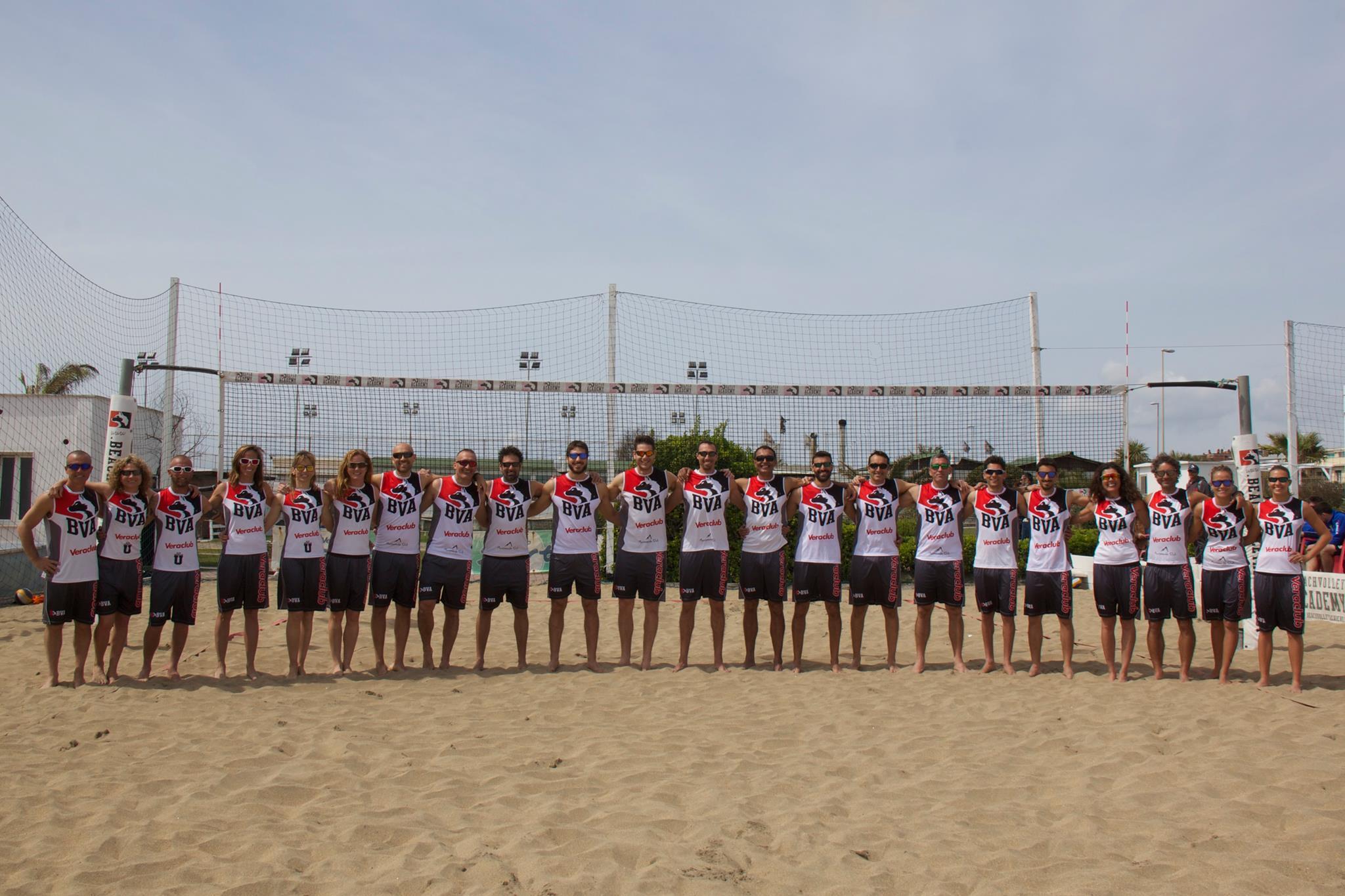 staff beach volley academy