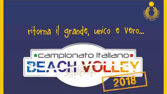 campionato italiano 2018 beach volley