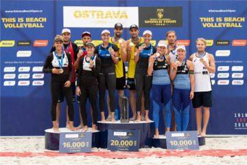 World Tour Ostrava: Oro per Herrera/Gavira (M) e Hermannova/Slukova (W)