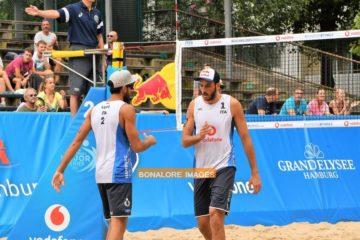 World Tour Finals Amburgo: Buona la prima! Lupo/Nicolai vincono in rimonta sui lettoni Smedins J./Samoilovs