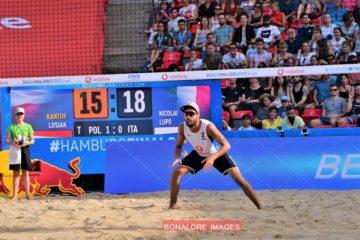 World Tour Finals Amburgo: Nicolai/Lupo in campo alle 12 contro i russi Stoyanovskiy/Velichko