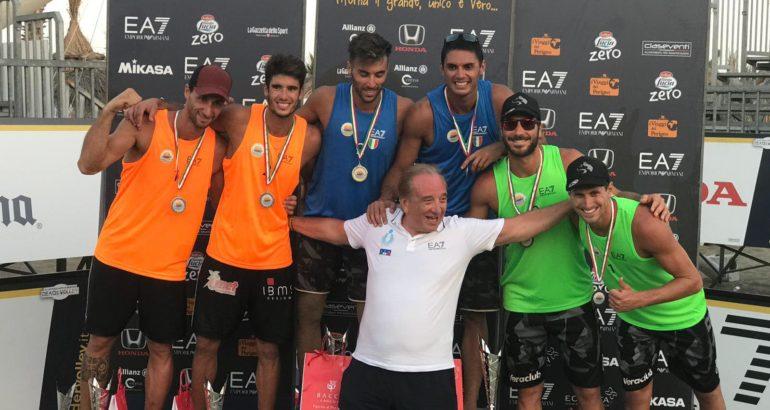 A Catania Menegatti/Orsi Toth e Caminati/Rossi si laureano Campioni d'Italia 2018