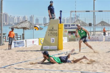 World Tour 4 star Doha: Ancora Cile sulla strada dell'Italia. Out Nicolai/Lupo per mano dei cugini Grimalt