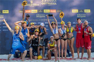 World Tour 4 star Ostrava: Perusic/Schweiner si arrendono a Mol/Sorum. Nel femminile successo di Agatha/Duda
