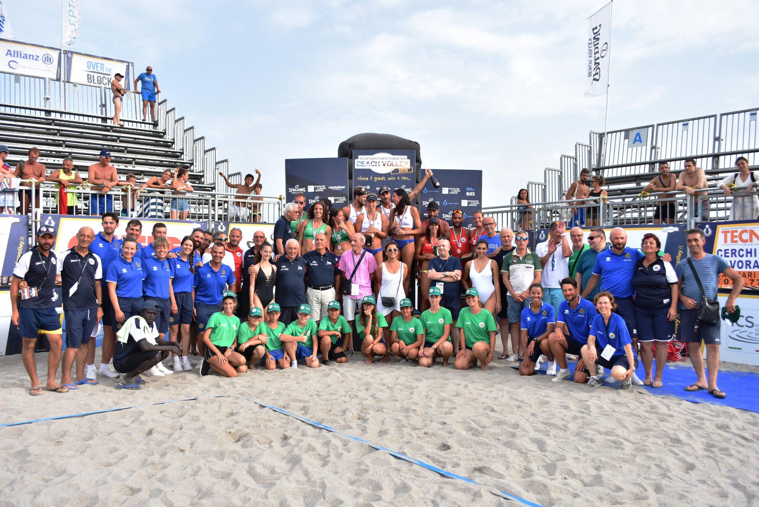 podio campionato italiano cagliari 2019