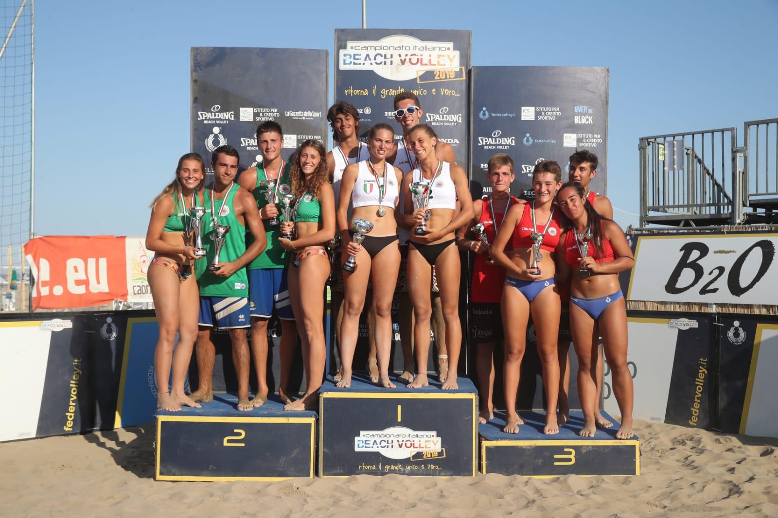 Campionato Italiano: Viscovich/Dal Corso e Ferrario/Ditta vincono titolo U19