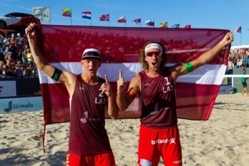 World Tour Jurmala: Samoilovs/Smedins secondo oro consecutivo