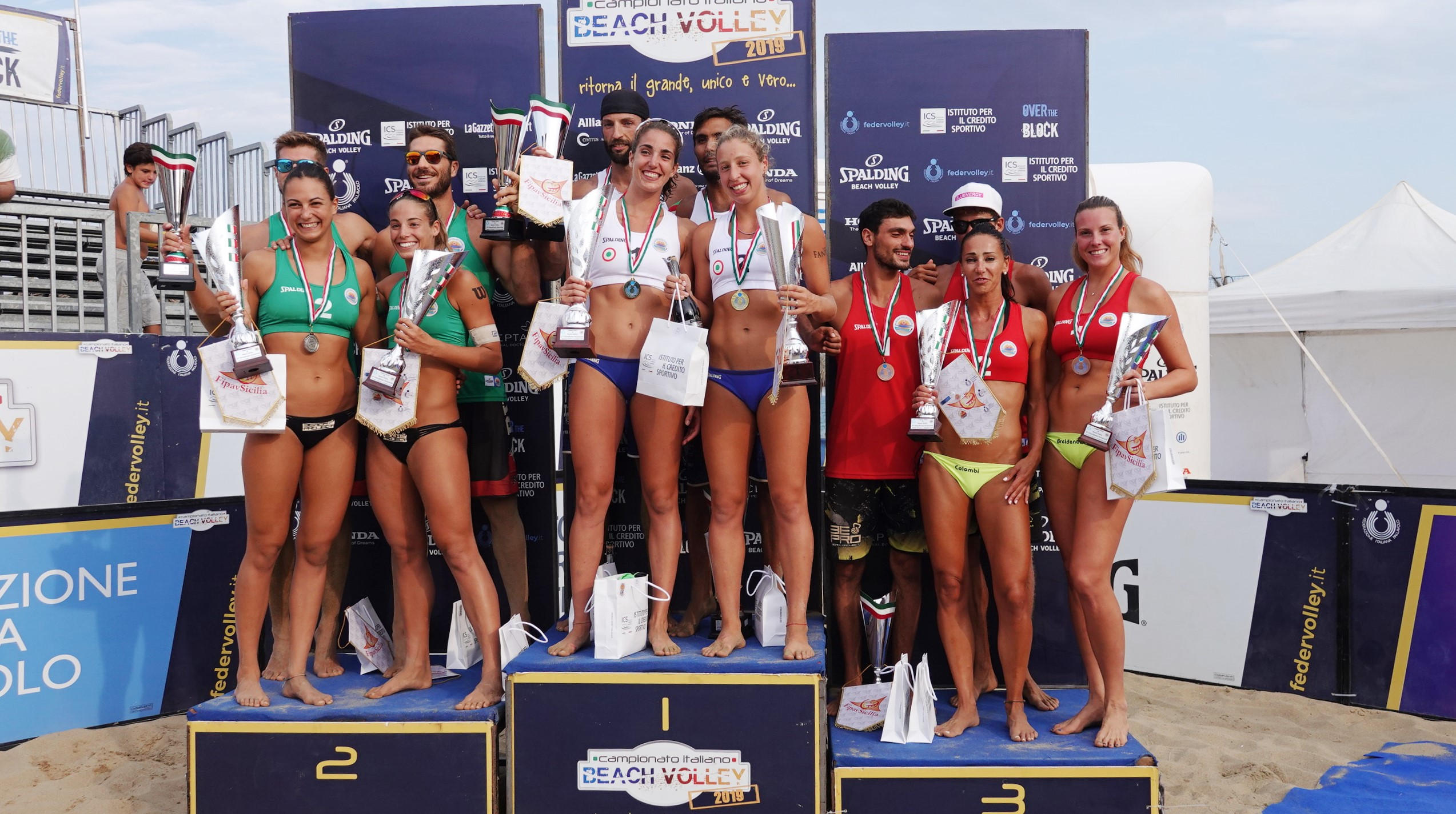 Coppa Italia: successo per Gradini/Scampoli e Lupo/Vanni
