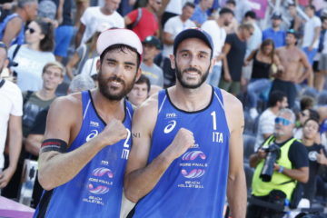 World Tour Finals Roma: sfuma al tie-break la vittoria di Lupo/Nicolai