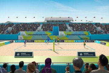 Birmingham svela la sede dei campi da beach volley dei Commonwealth Games 2022